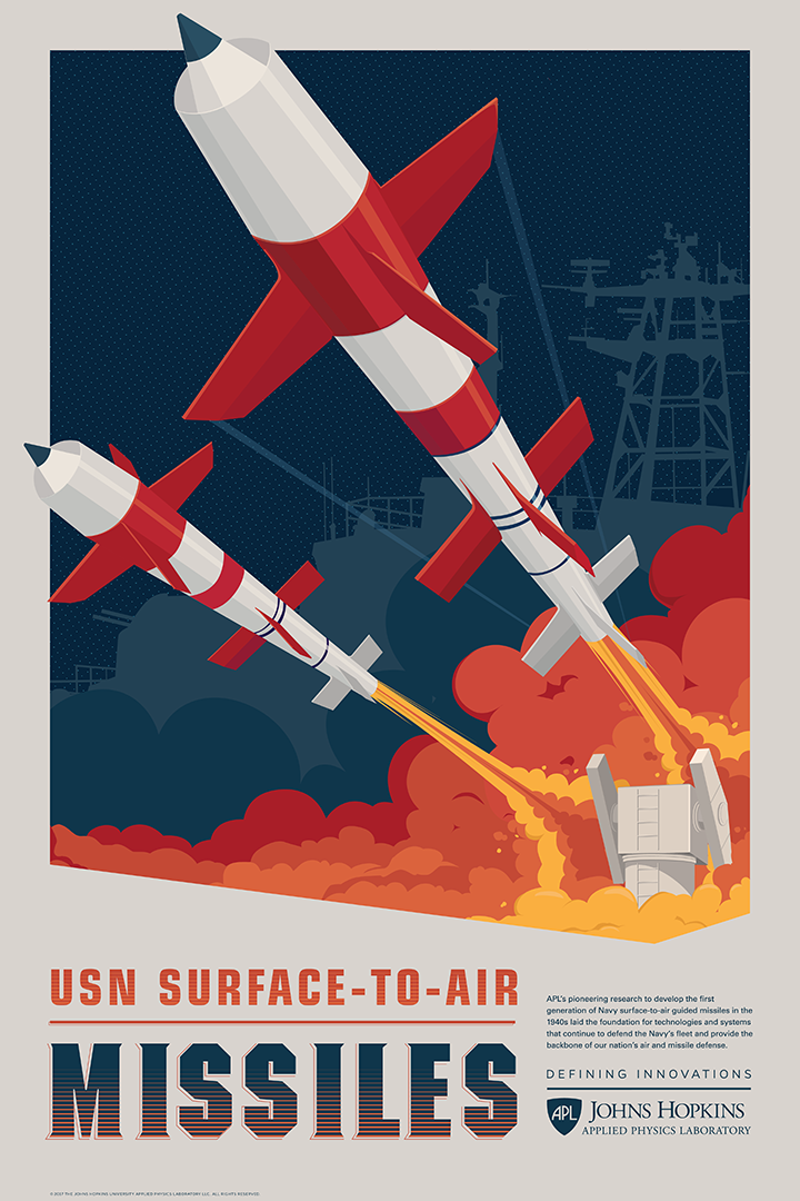 Defining Innovations Poster #2: USN Missiles