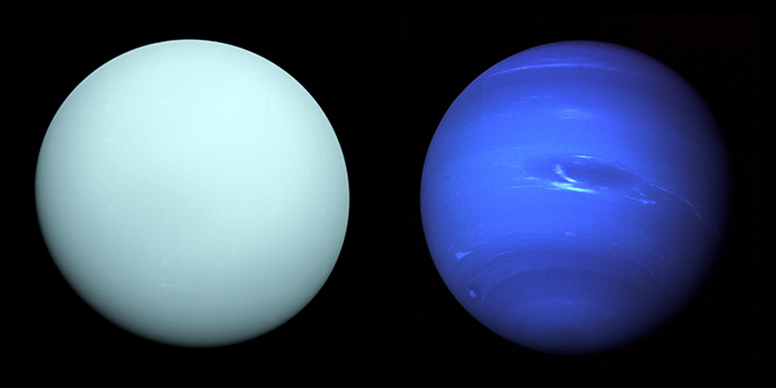 Images of our solar system's ice giants
