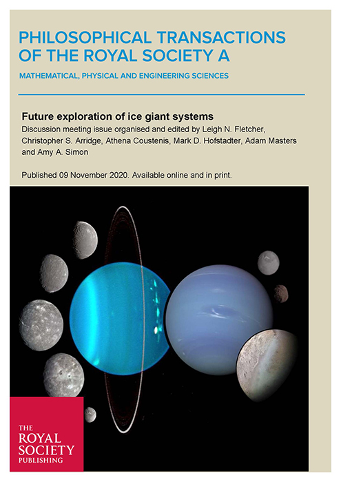 Image of Front cover of the Royal Society's special issue