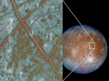 Image showing Europa's crust
