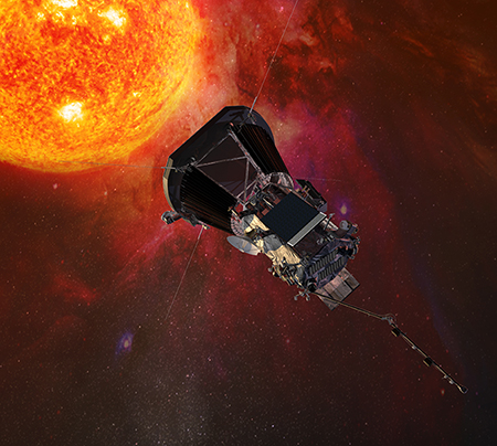 Artist's impression of the Solar Probe Plus spacecraft