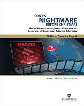 Sony's Cyber Nightmare report cover