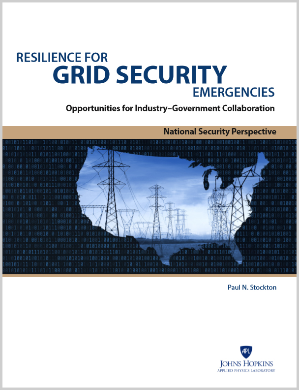 Resilience for Grid Security Emergencies Cover