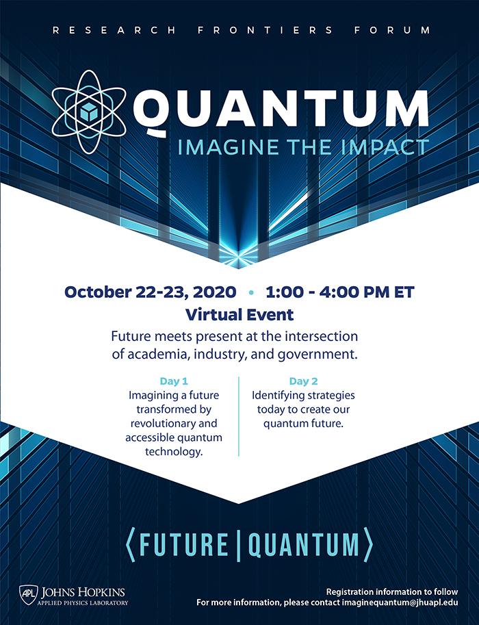 Quantum: Imagine the Impact schedule