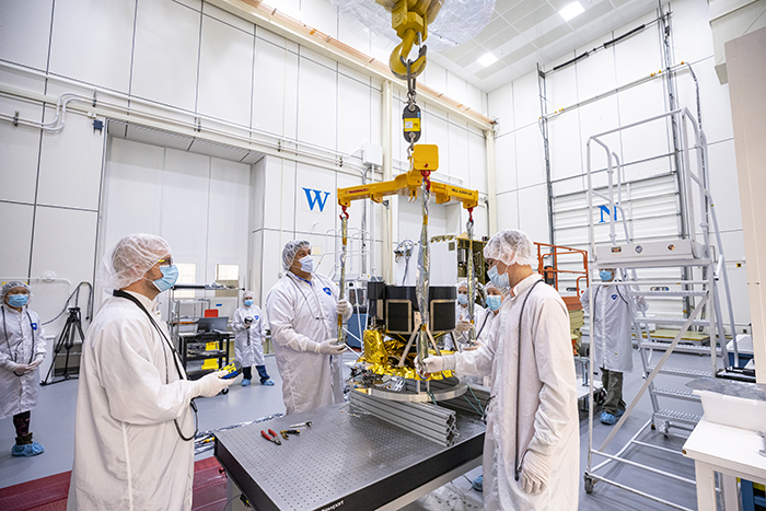 Image of Double Asteroid Redirection Test spacecraft