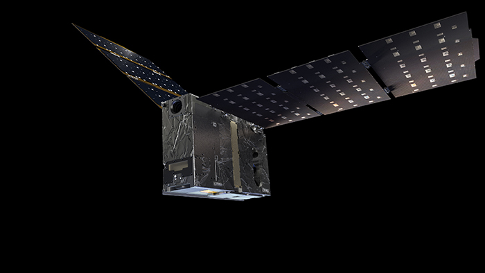 Image of Artist's impression of an EZIE SmallSat