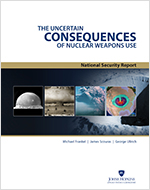 Cover of The Uncertain Consequences of Nuclear Weapons Use