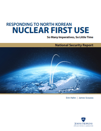 Cover of Responding to North Korean Nuclear First Use