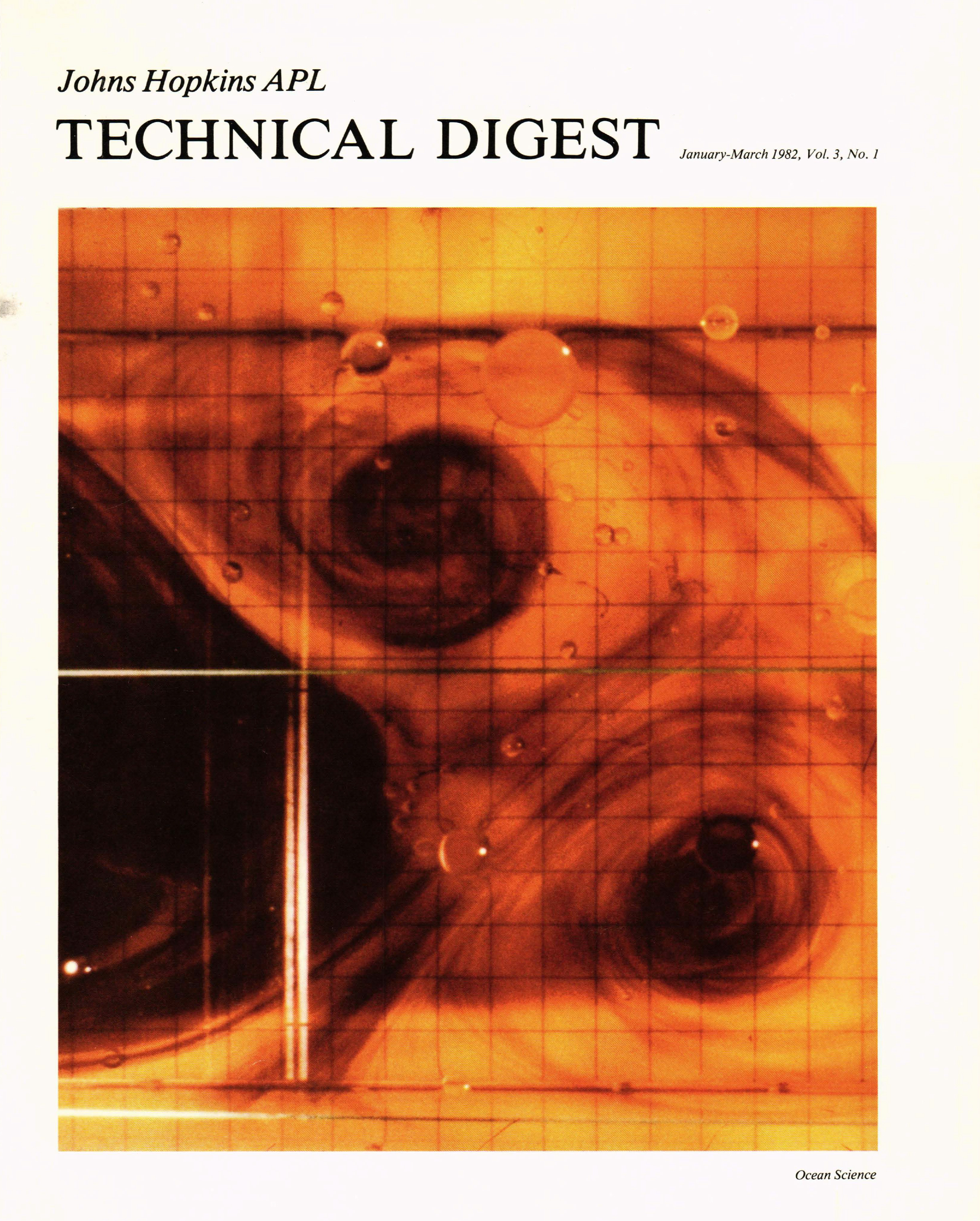 Tech Digest Vol.3 Num.1 Cover