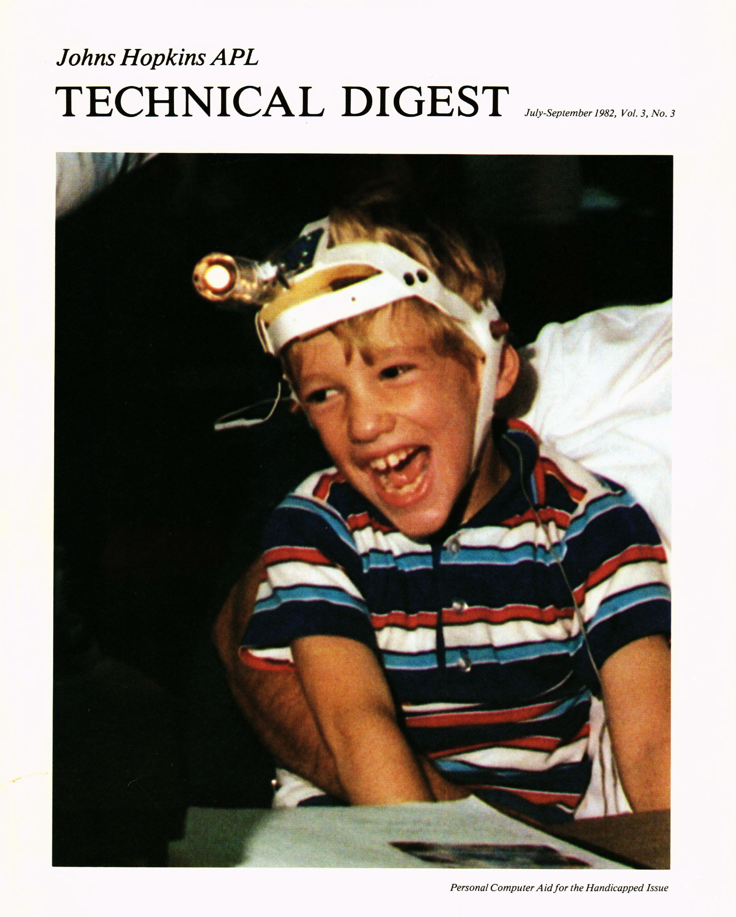 Tech Digest Vol.3 Num.3 Cover