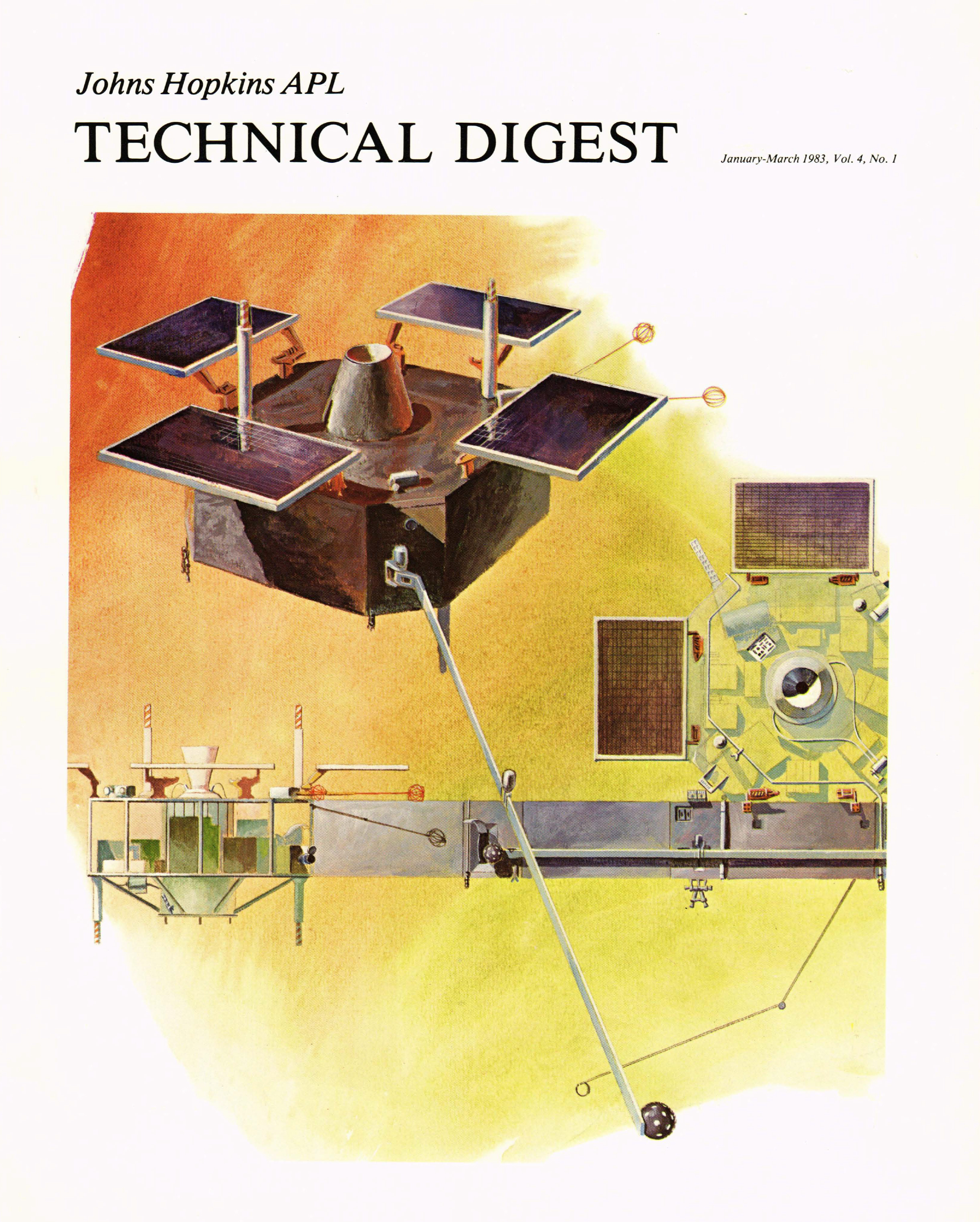 Tech Digest Vol.4 Num.1 Cover