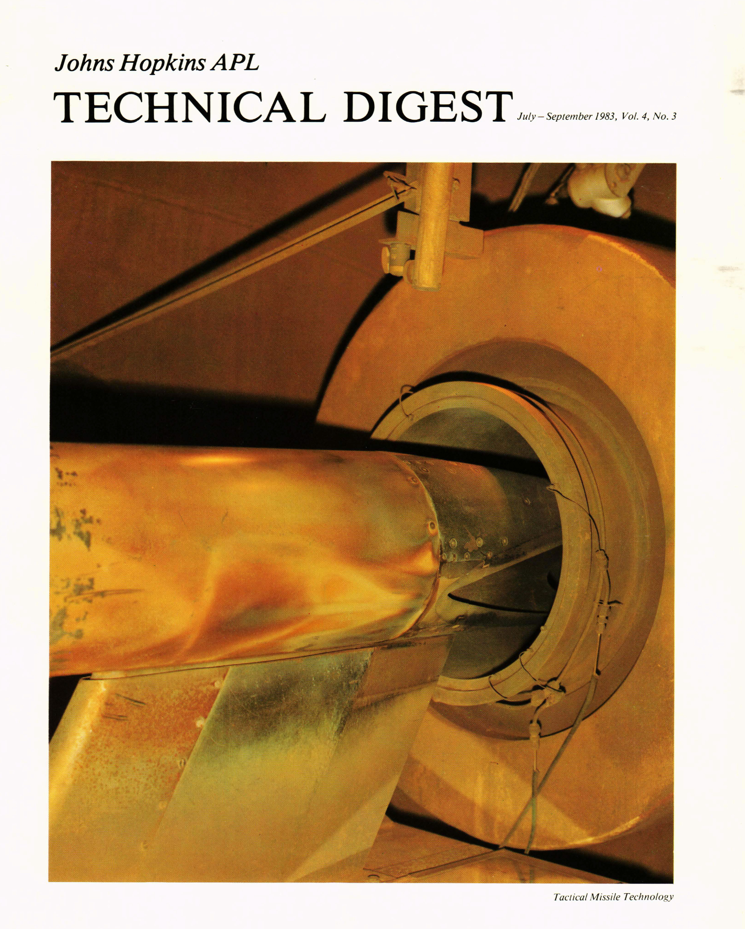 Tech Digest Vol.4 Num.3 Cover