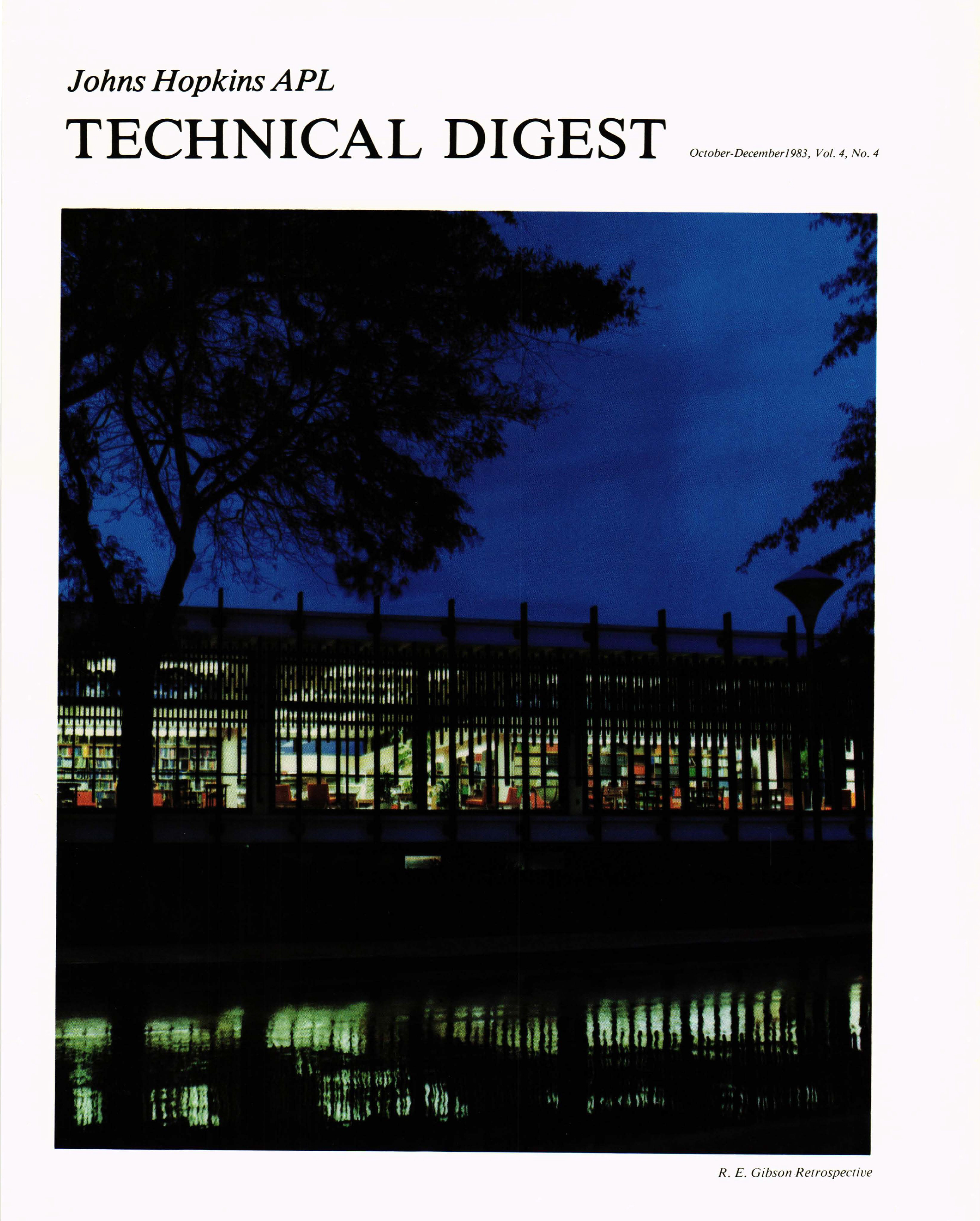 Tech Digest Vol.4 Num.4 Cover