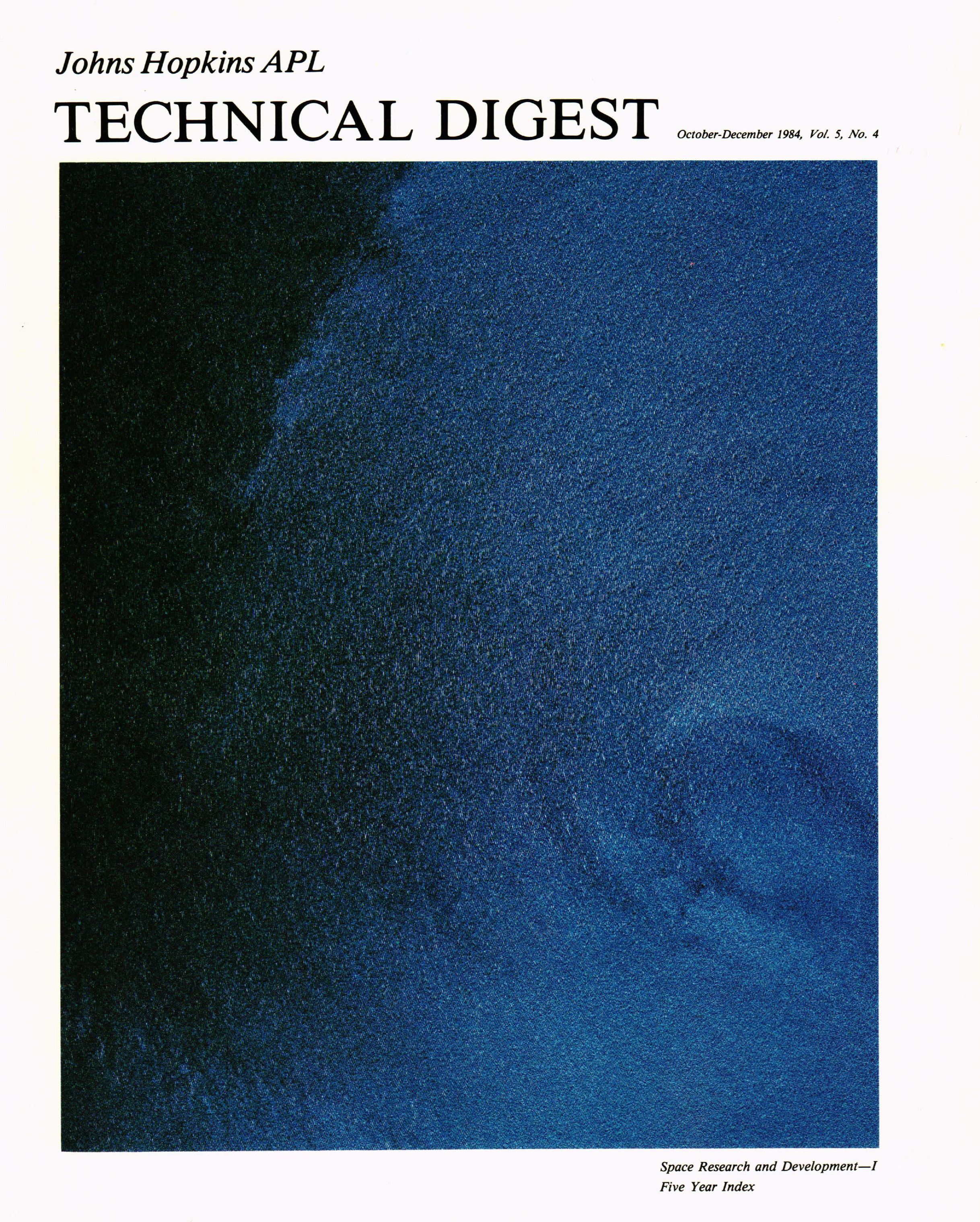 Tech Digest Vol.5 Num.4 Cover
