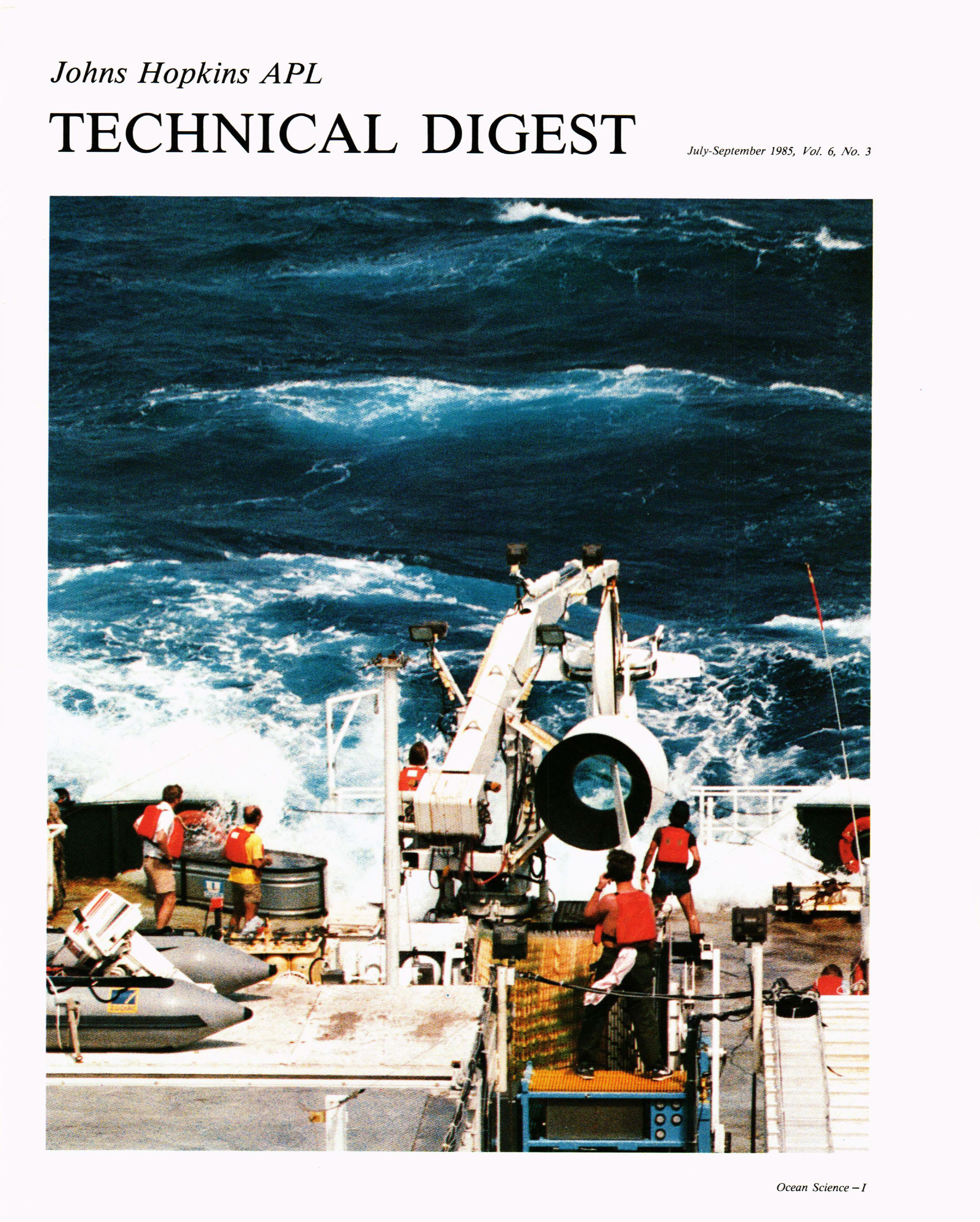 Tech Digest Vol.6 Num.3 Cover
