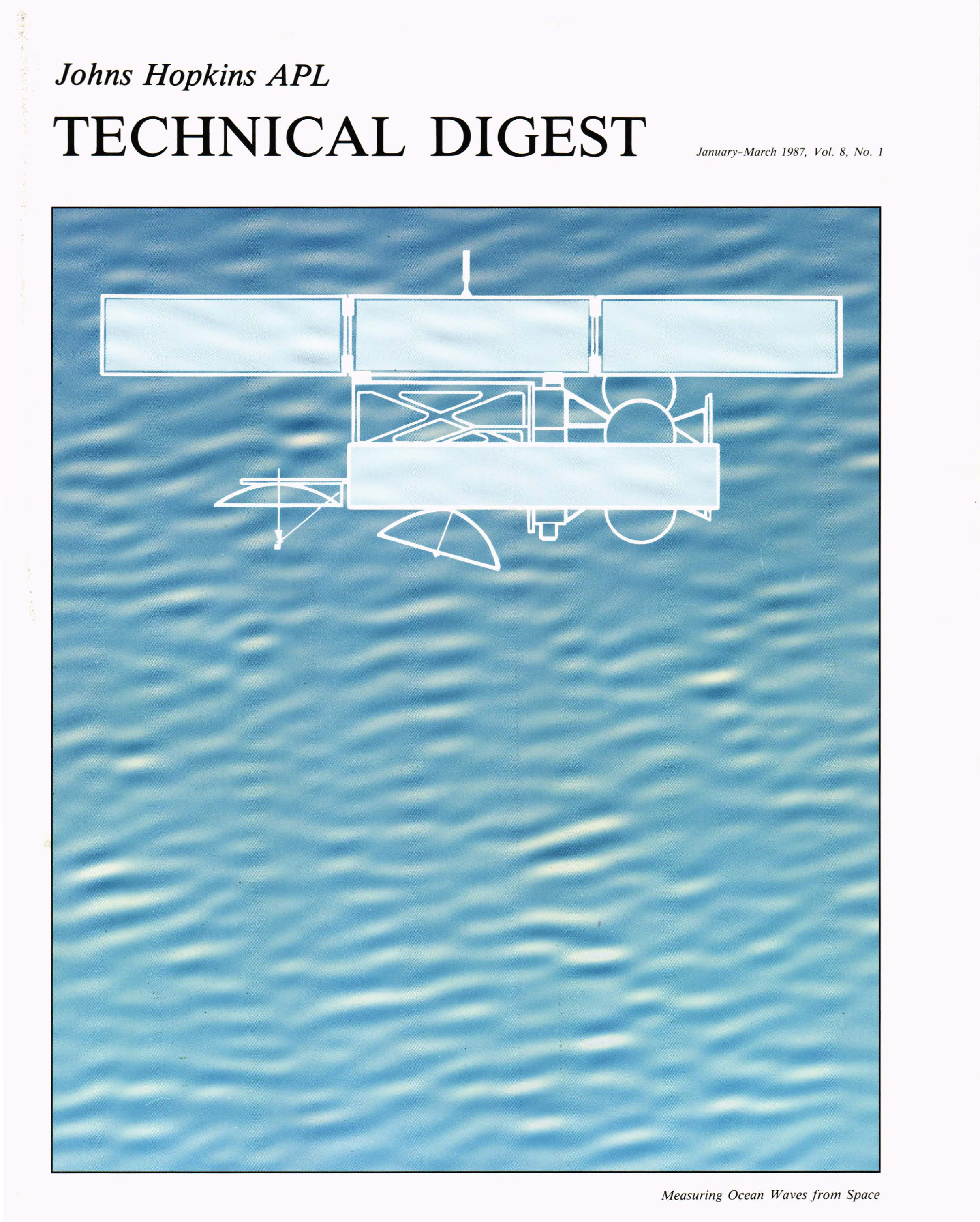 Tech Digest Vol.8 Num.1 Cover