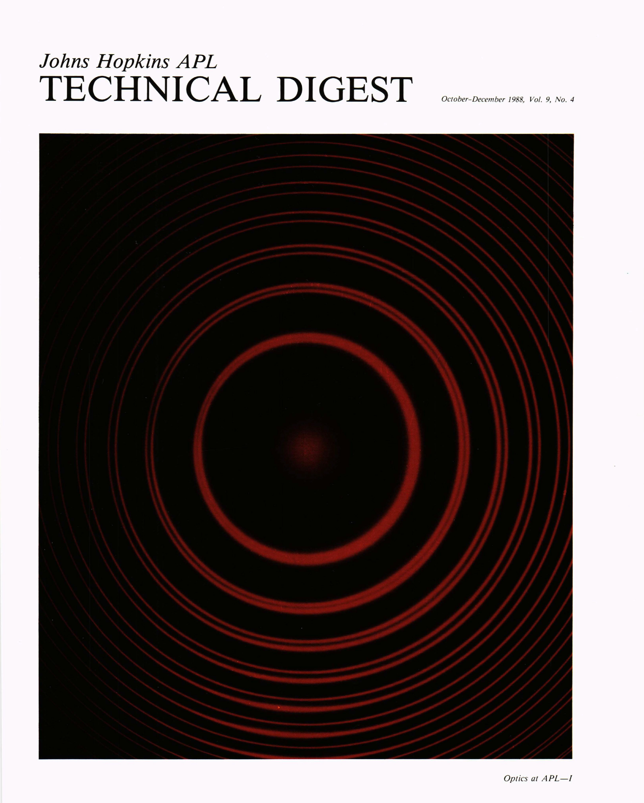 Tech Digest Vol.9 Num.4 Cover